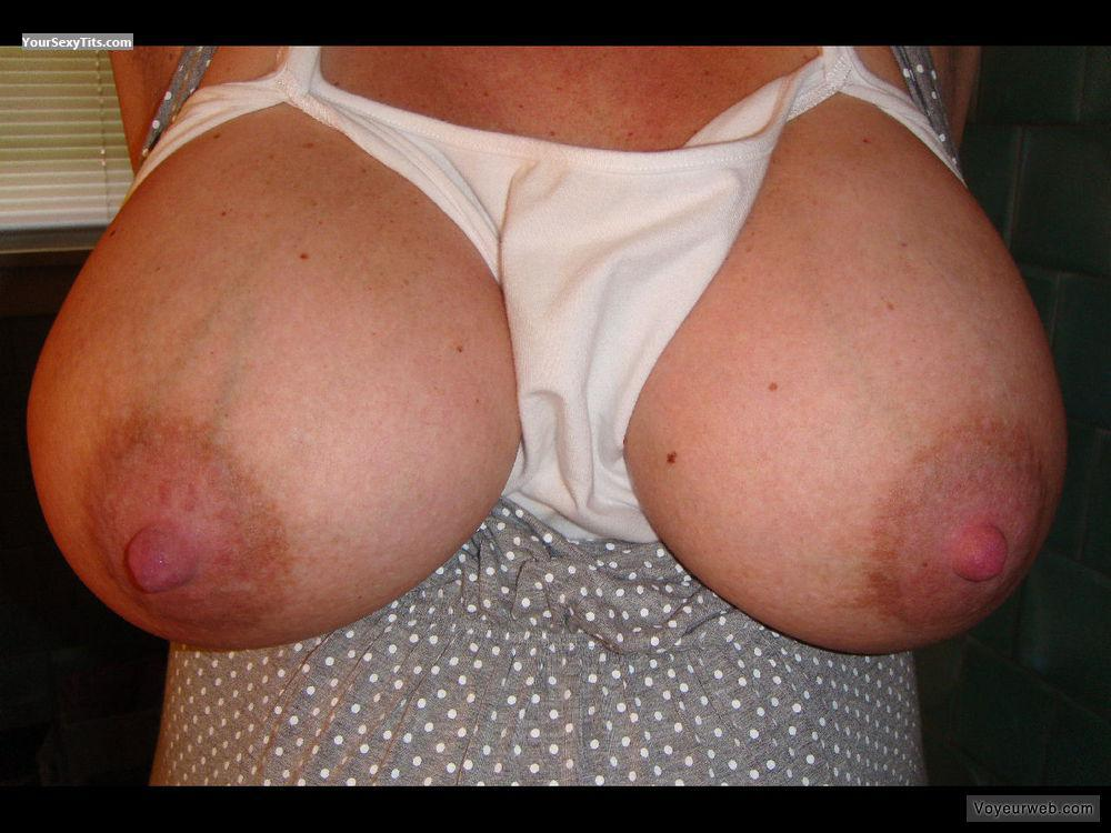 Tit Flash: My Very Big Tits - 41 Y/o Milf from United States