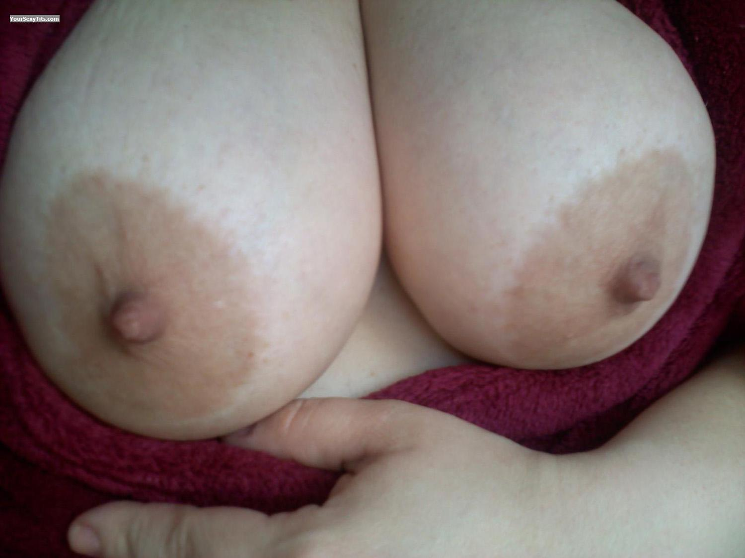 My Very big Tits Selfie by Al