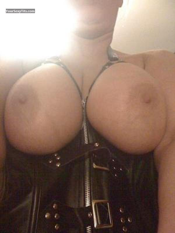 Very big Tits Of My Wife Selfie by Five