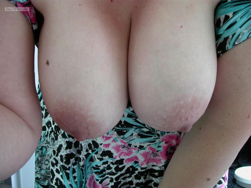 Tit Flash: My Big Tits (Selfie) - Curvy-lick-ious from Australia