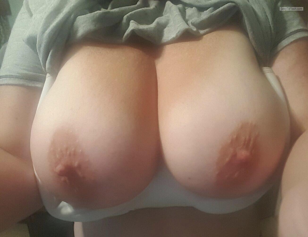 Very big Tits Of My Wife Selfie by Triple D's