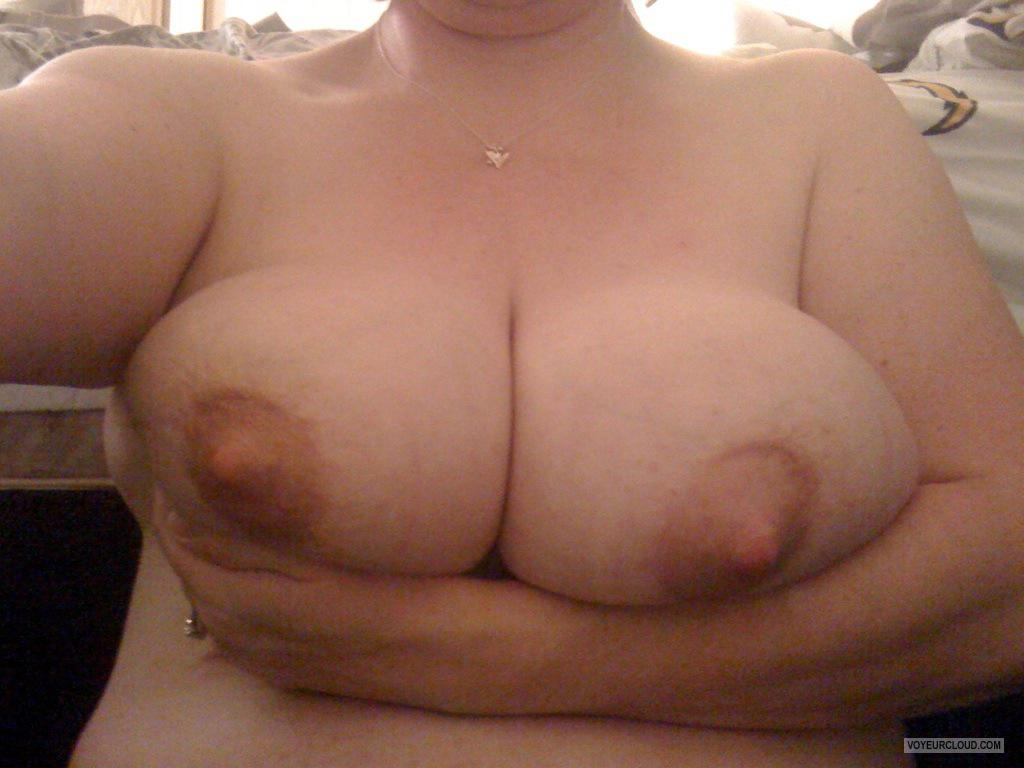 Very big Tits Of My Wife Selfie by Bug