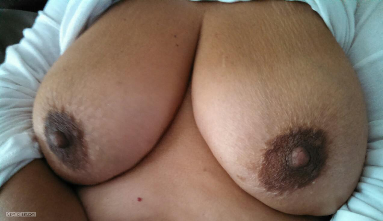 Very big Tits Of My Wife Karentits
