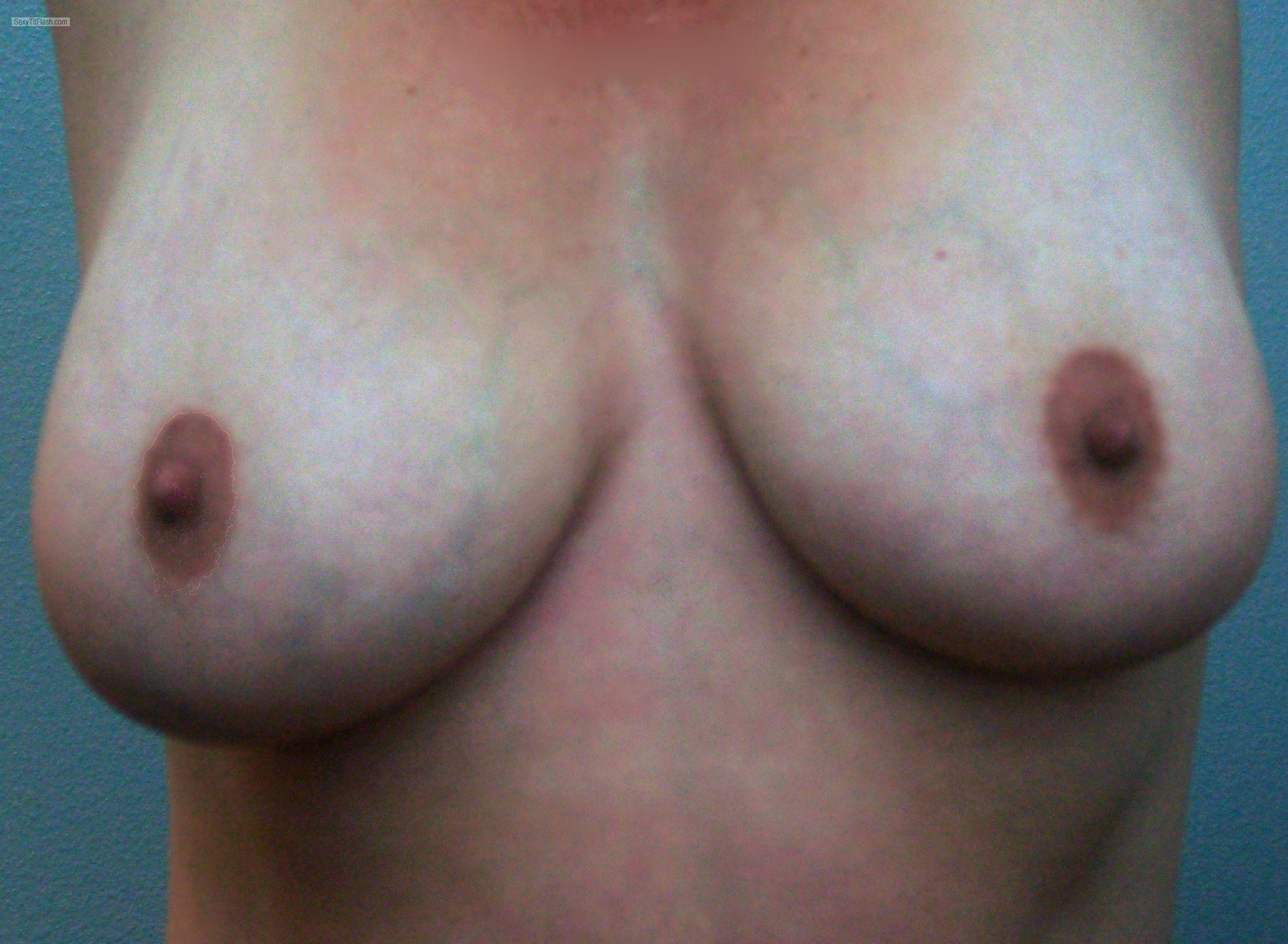 Very big Tits Of My Girlfriend Selfie by Dobbie