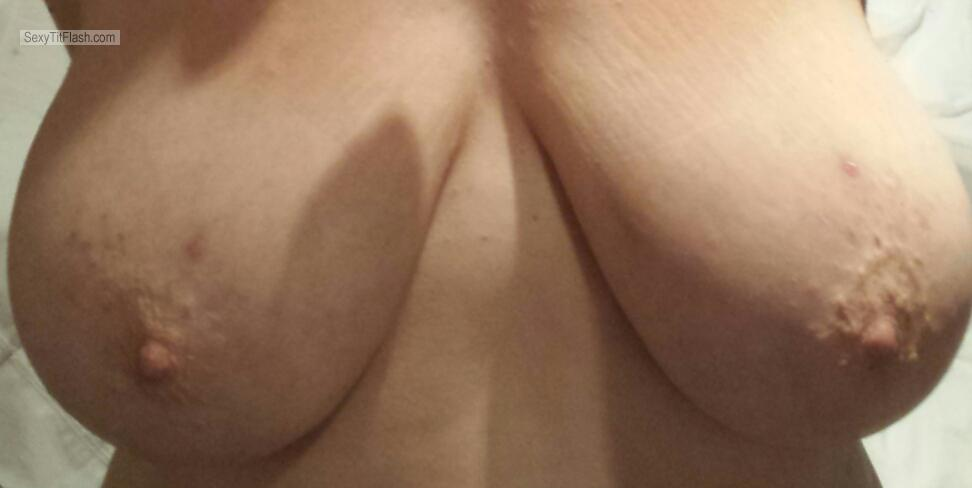 Tit Flash: My Very Big Tits (Selfie) - Dirty Minx from United Kingdom
