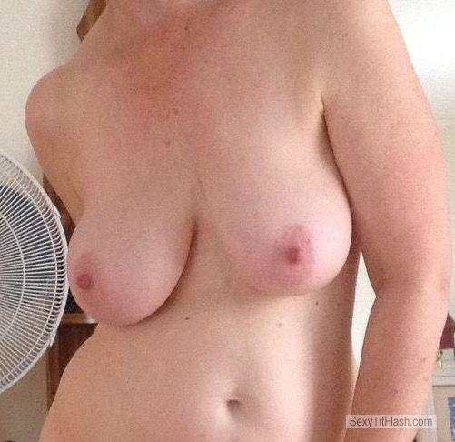 My Very big Tits Topless Selfie by Jessie