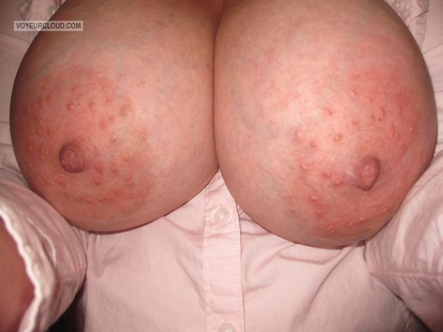 Tit Flash: Wife's Very Big Tits - Curveymilf from Canada