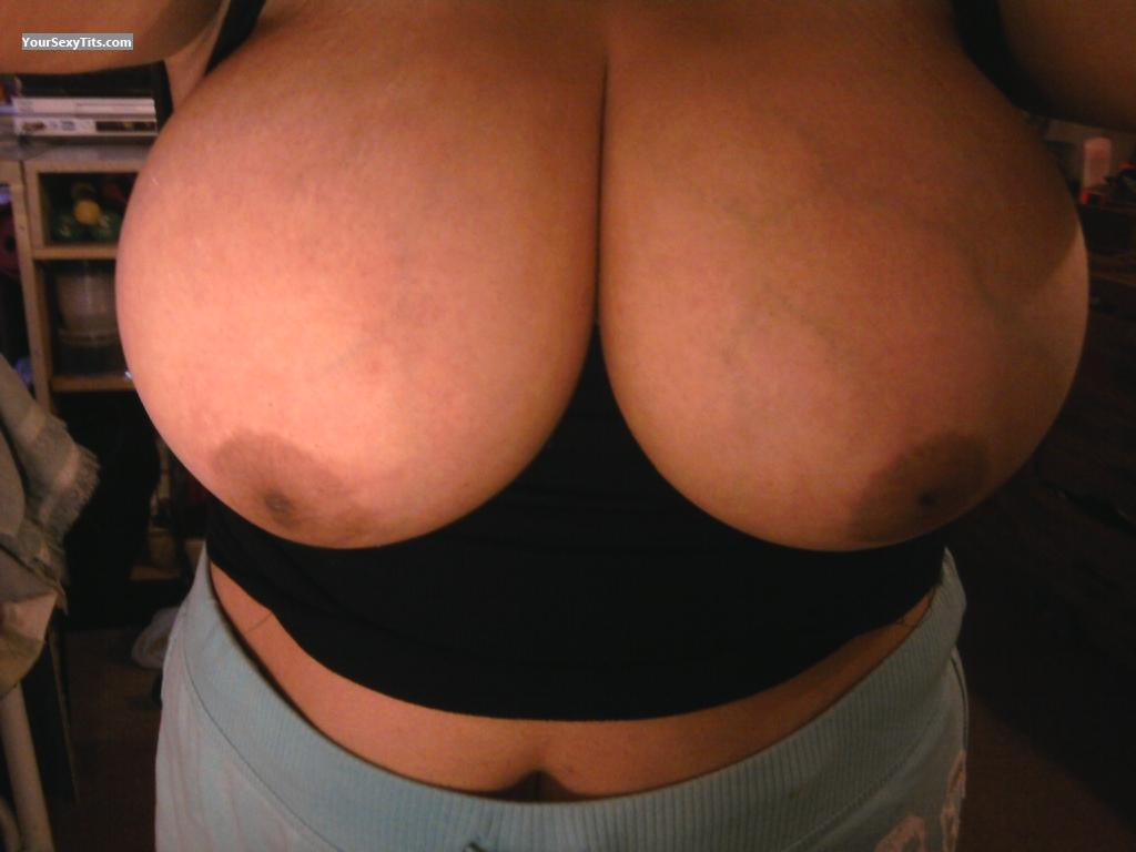 Tit Flash: My Very Big Tits (Selfie) - Latinabigtits from United States