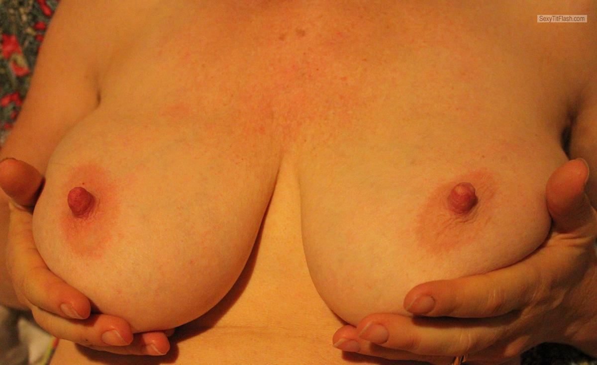 Tit Flash: My Very Big Tits (Selfie) - Jessie from Australia
