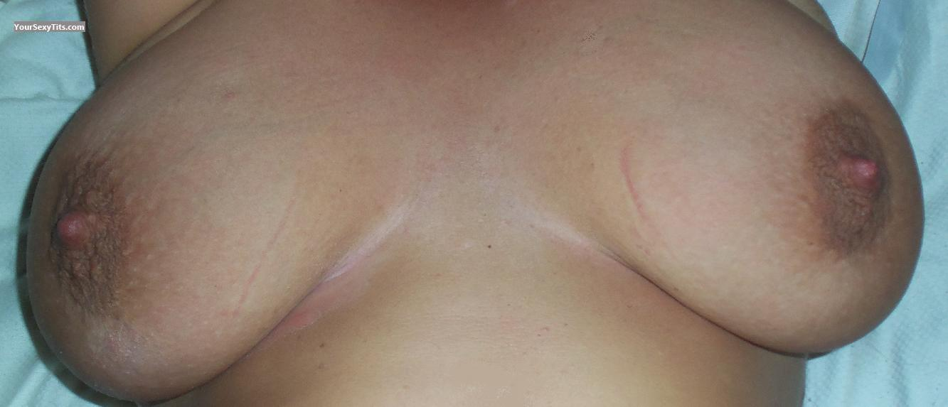 Very big Tits Of My Wife CMG