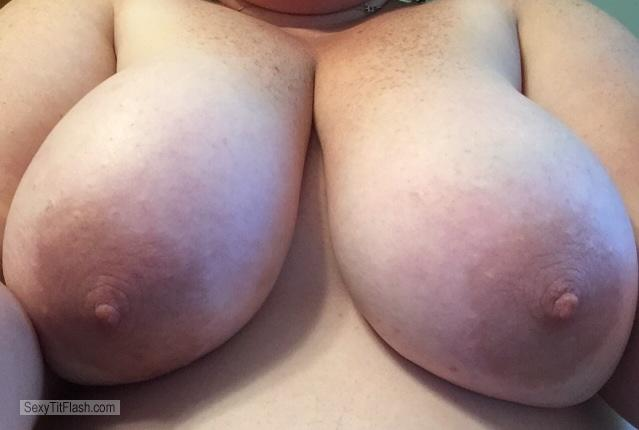 Tit Flash: My Very Big Tits (Selfie) - Cannons from Canada