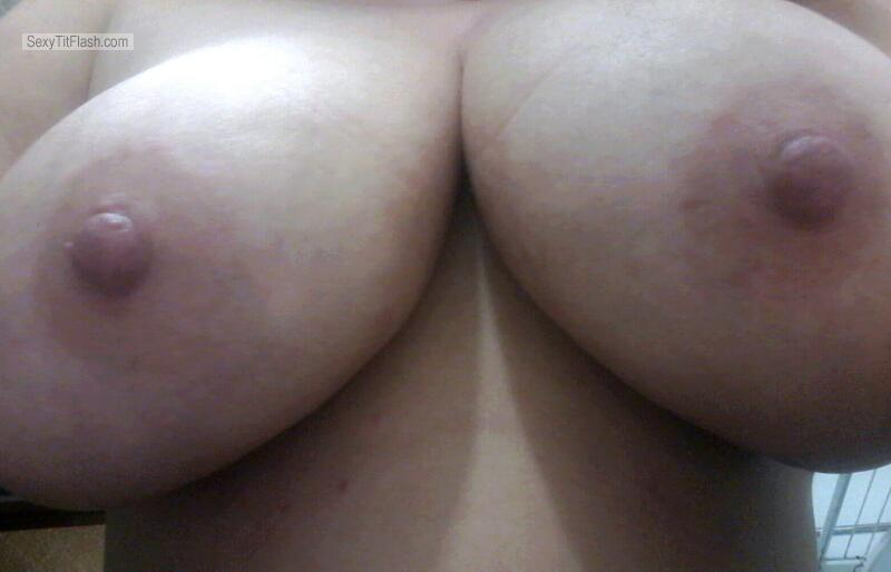 Very big Tits Of My Wife Selfie by Juggs