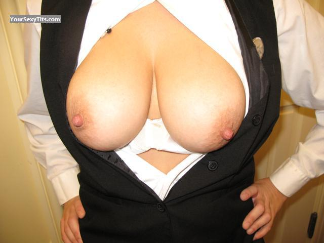 Tit Flash: Very Big Tits - Bubbles from United States