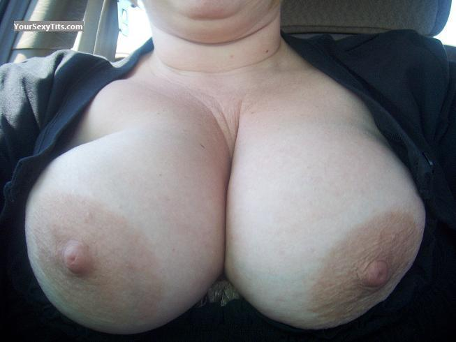 Tit Flash: My Very Big Tits (Selfie) - Partygirlkat from United States