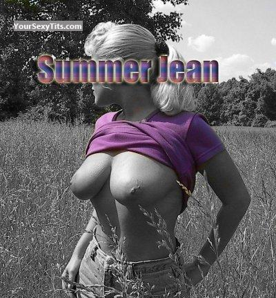 Very big Tits Summerjean