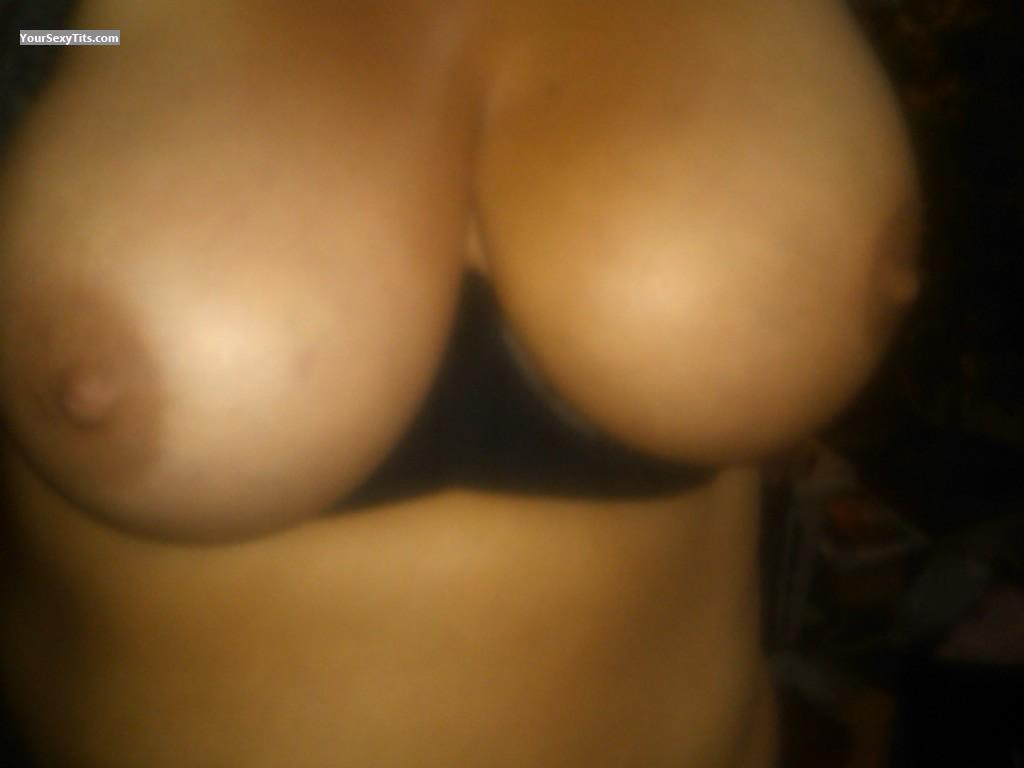 Tit Flash: My Very Big Tits (Selfie) - Rusty1 from United States