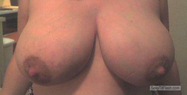 Tit Flash: My Very Big Tits - Nice Nips from United States
