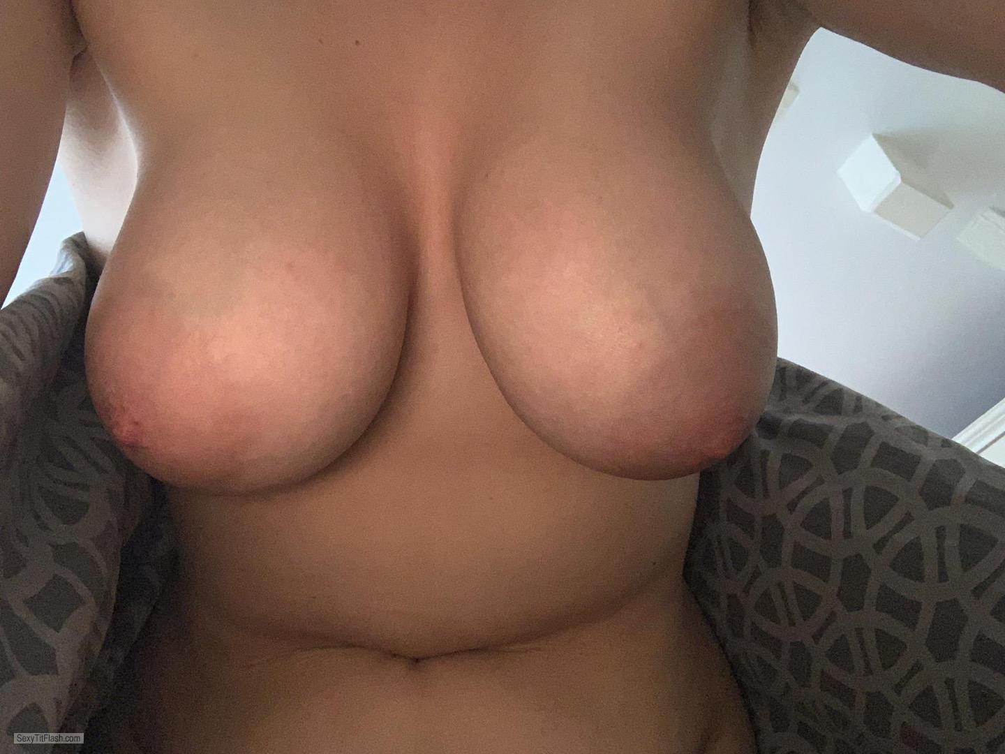 My Very big Tits Selfie by Huge Sexy E Cups