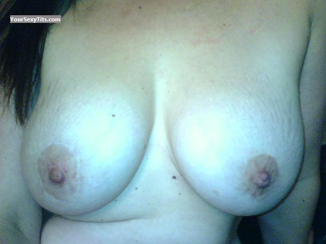 My Very big Tits Selfie by WET & HORNY