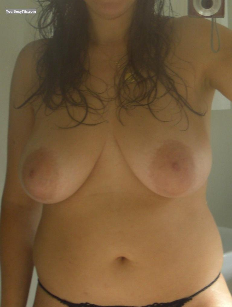 Tit Flash: My Very Big Tits (Selfie) - Bissho from Colombia
