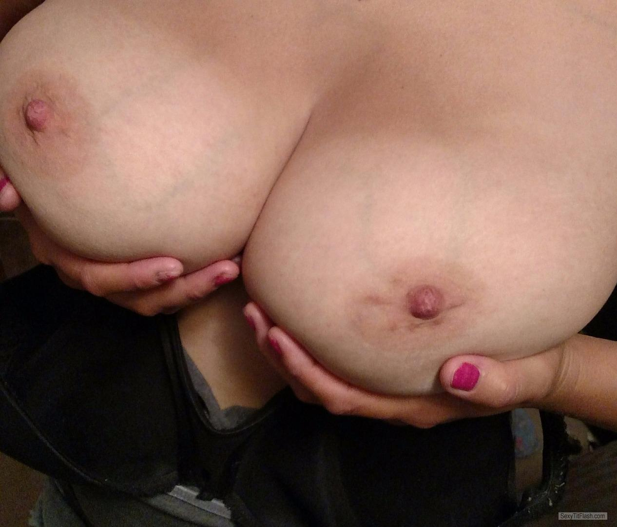Tit Flash: My Very Big Tits - Sexy from United Kingdom