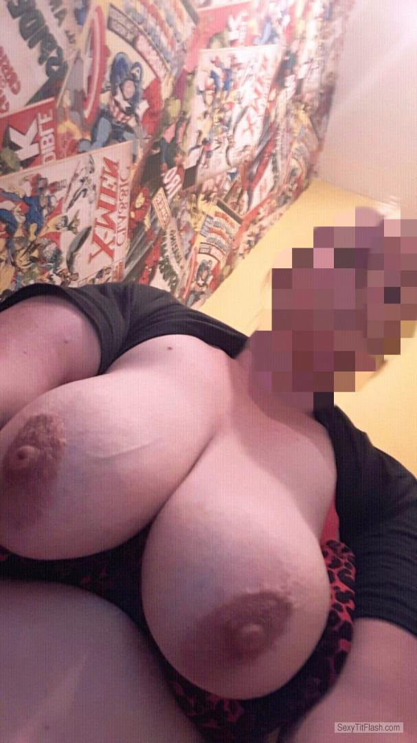 My Very big Tits Topless Selfie by Potterman75