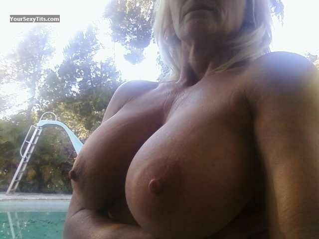 Tit Flash: My Very Big Tits (Selfie) - Double \ from United States