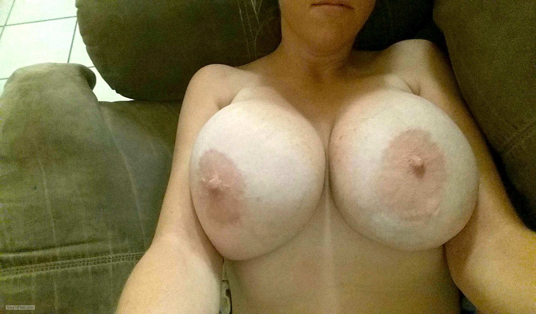 Very big Tits Of A Friend Big Funbags