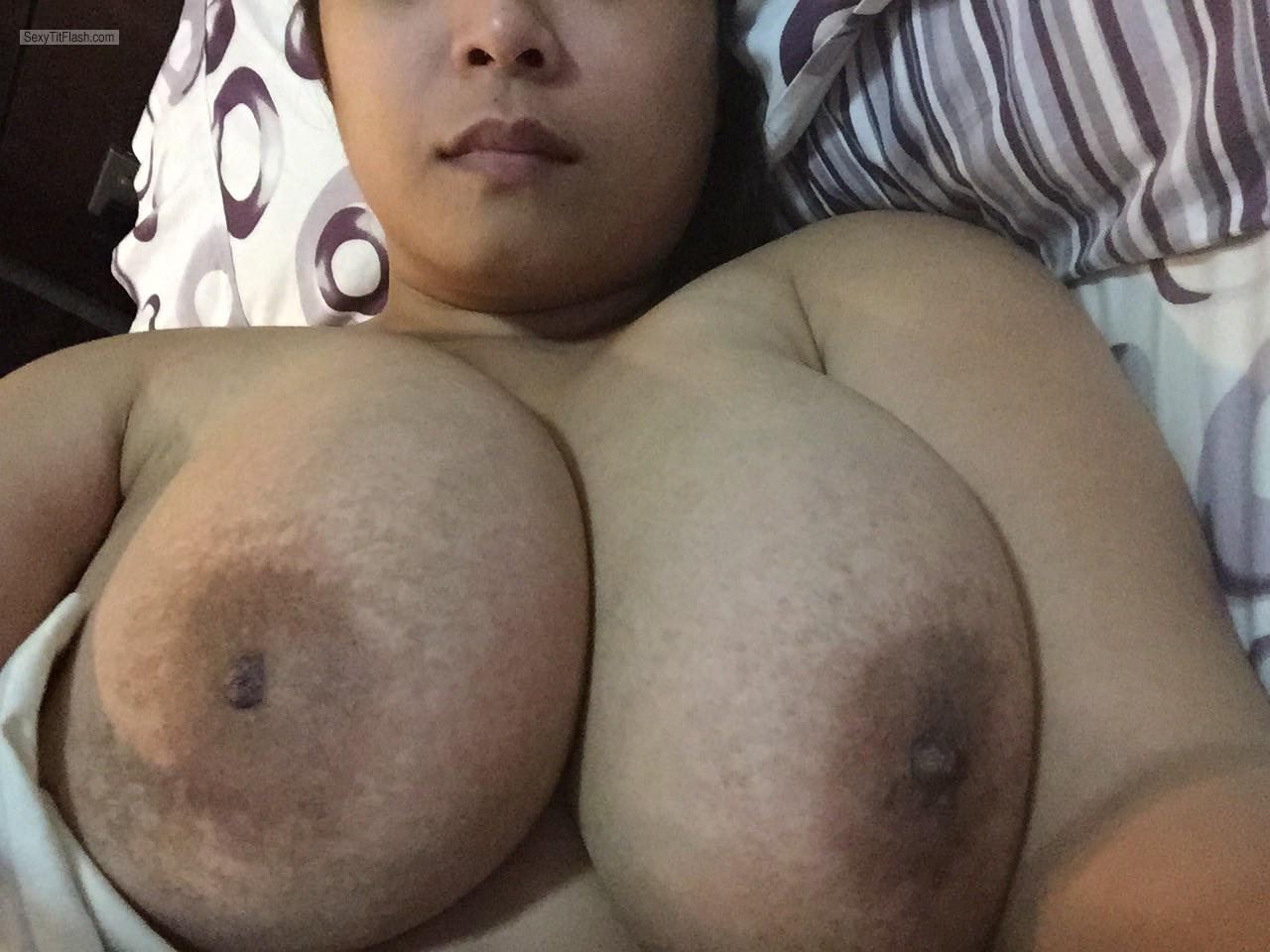 My Very big Tits Topless Leeann