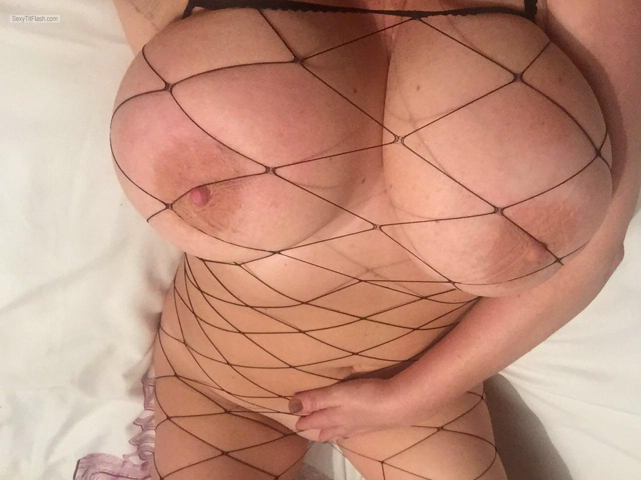 Very big Tits Of My Room Mate Selfie by Gilly