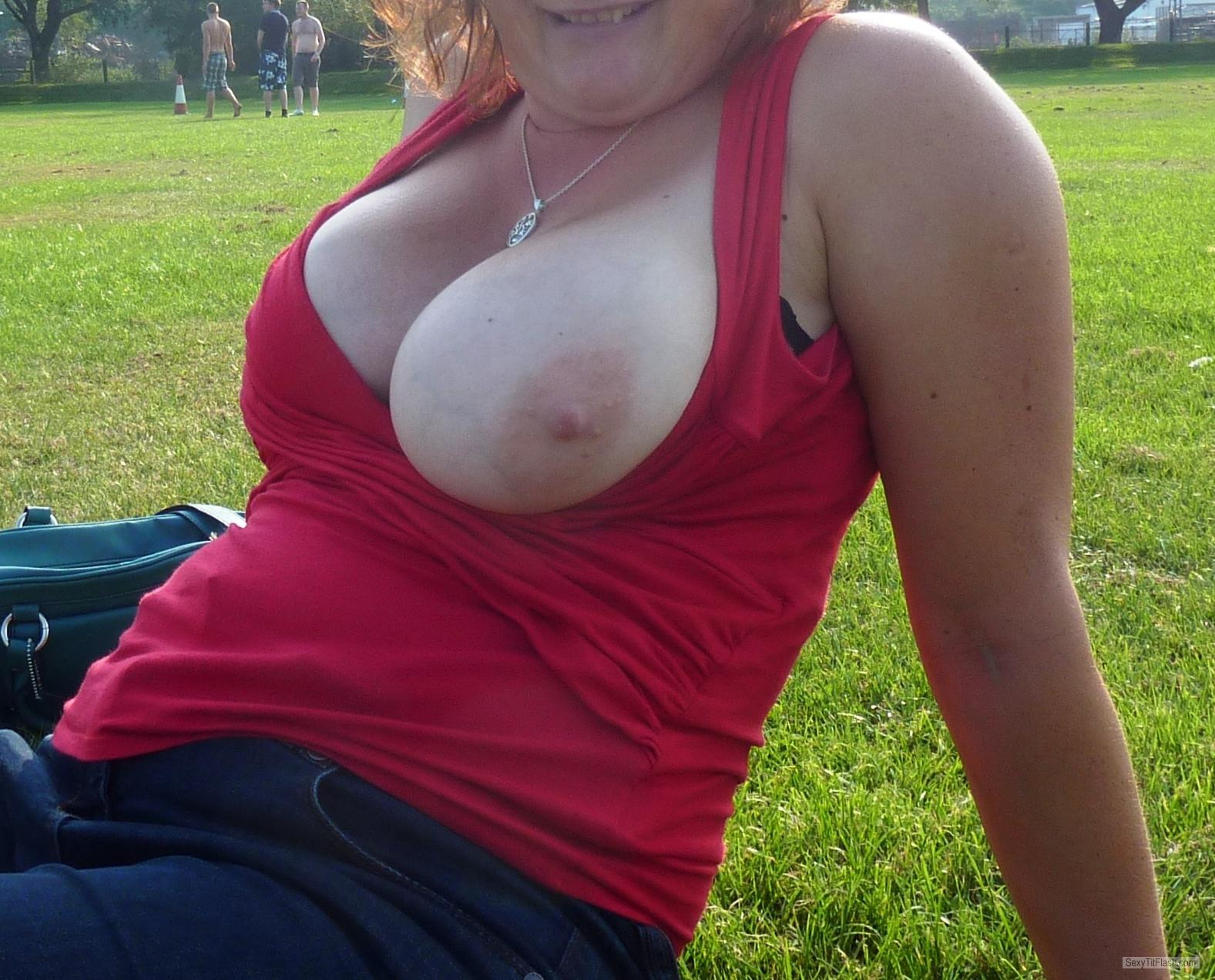 Very big Tits Of My Girlfriend Funbags