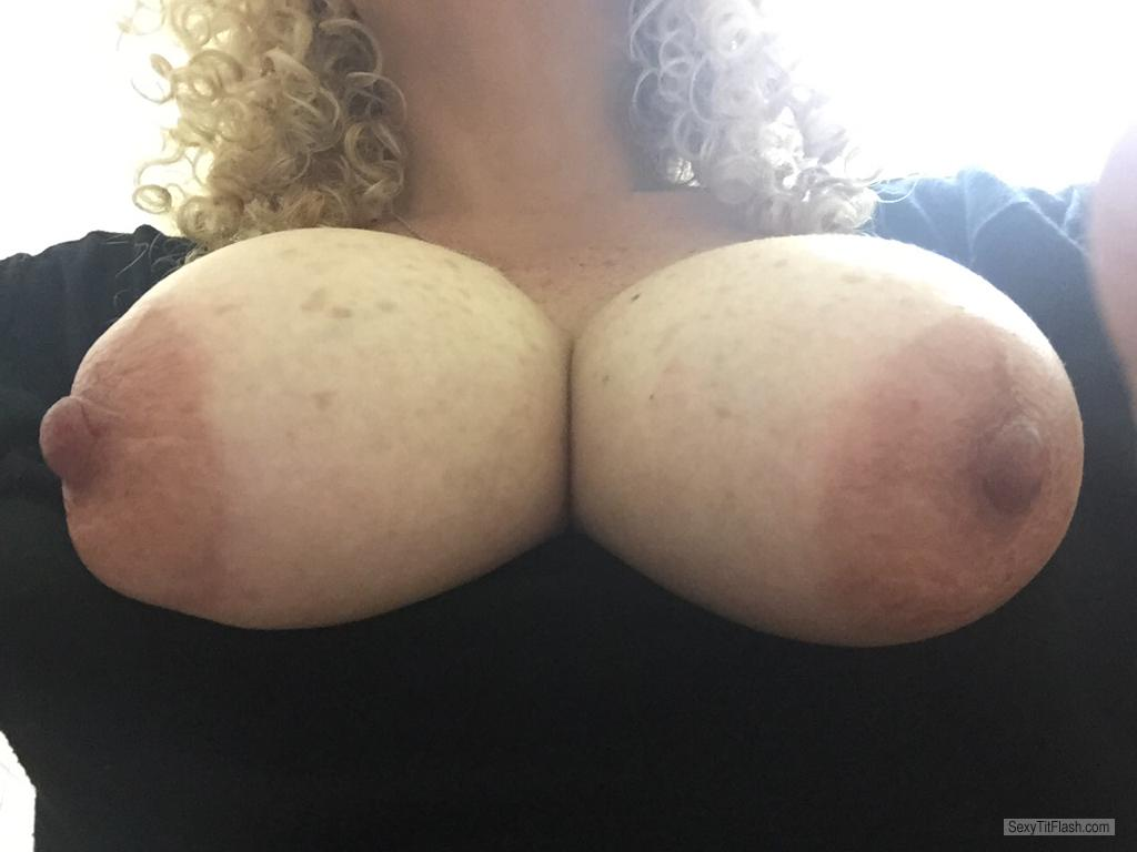Tit Flash: My Very Big Tits - AAAAA from United Kingdom