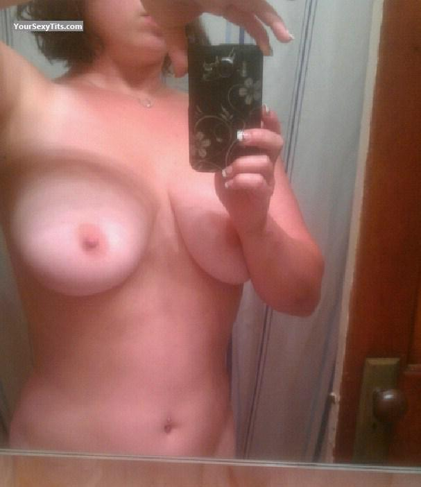 Tit Flash: My Very Big Tits (Selfie) - Vixen from United States