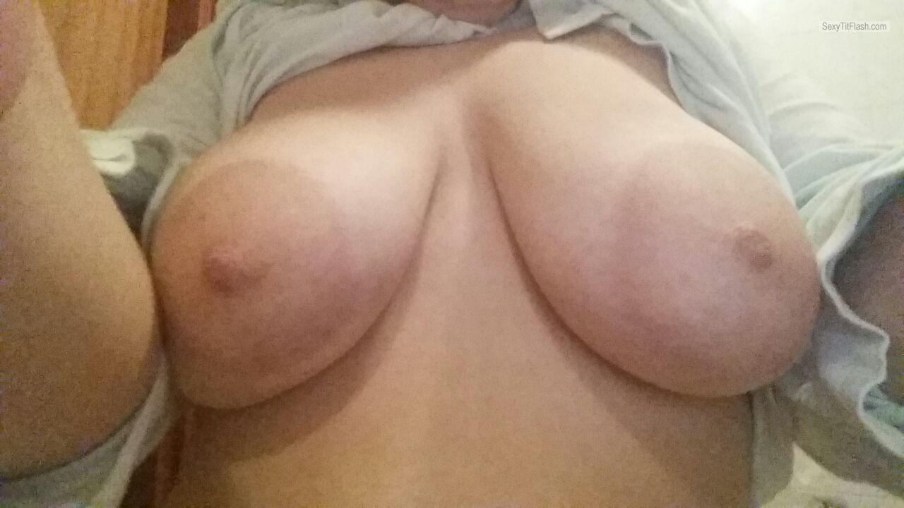 Tit Flash: My Very Big Tits - Krizia from Italy