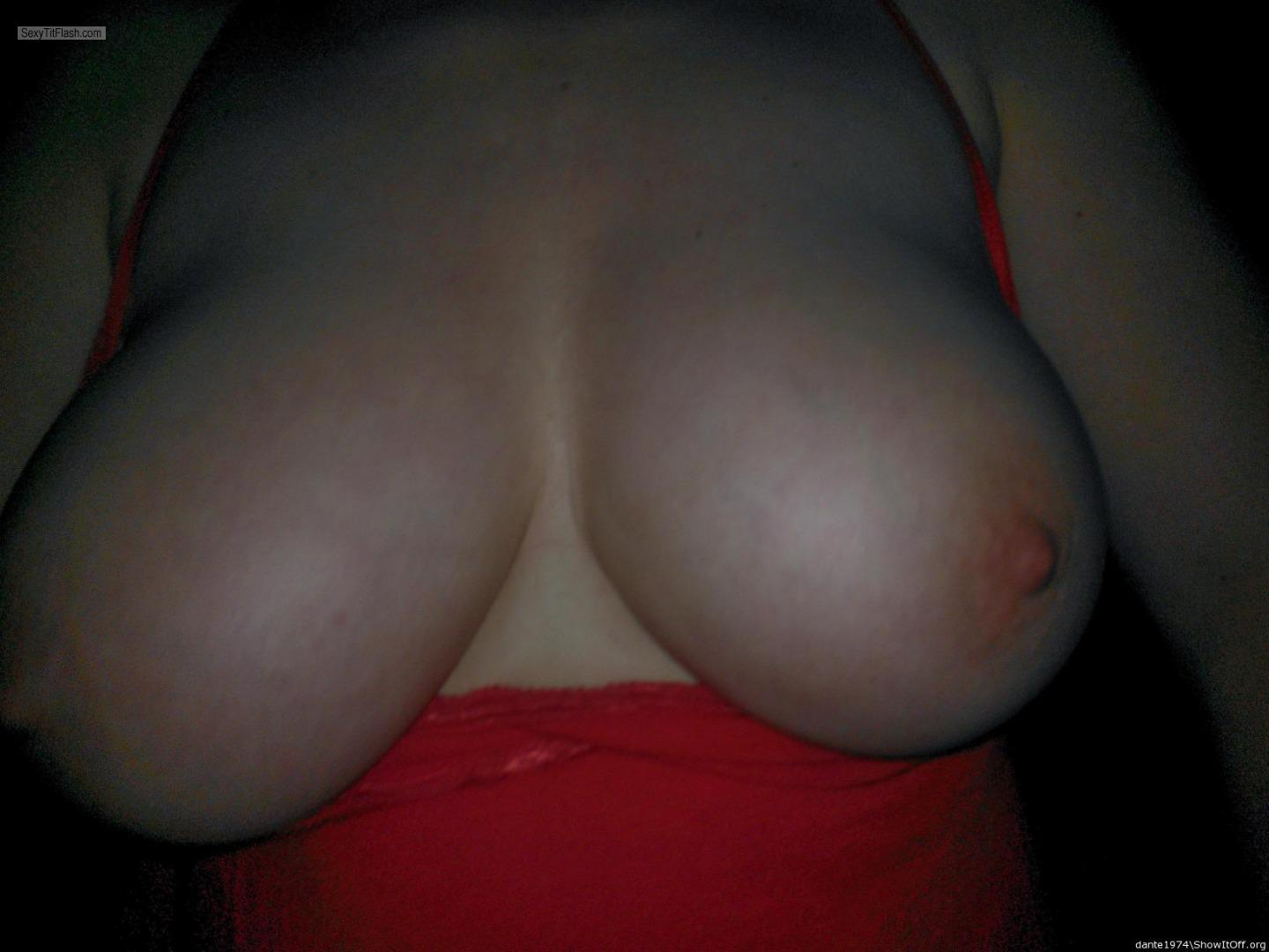 Tit Flash: My Very Big Tits - Lisa from United States