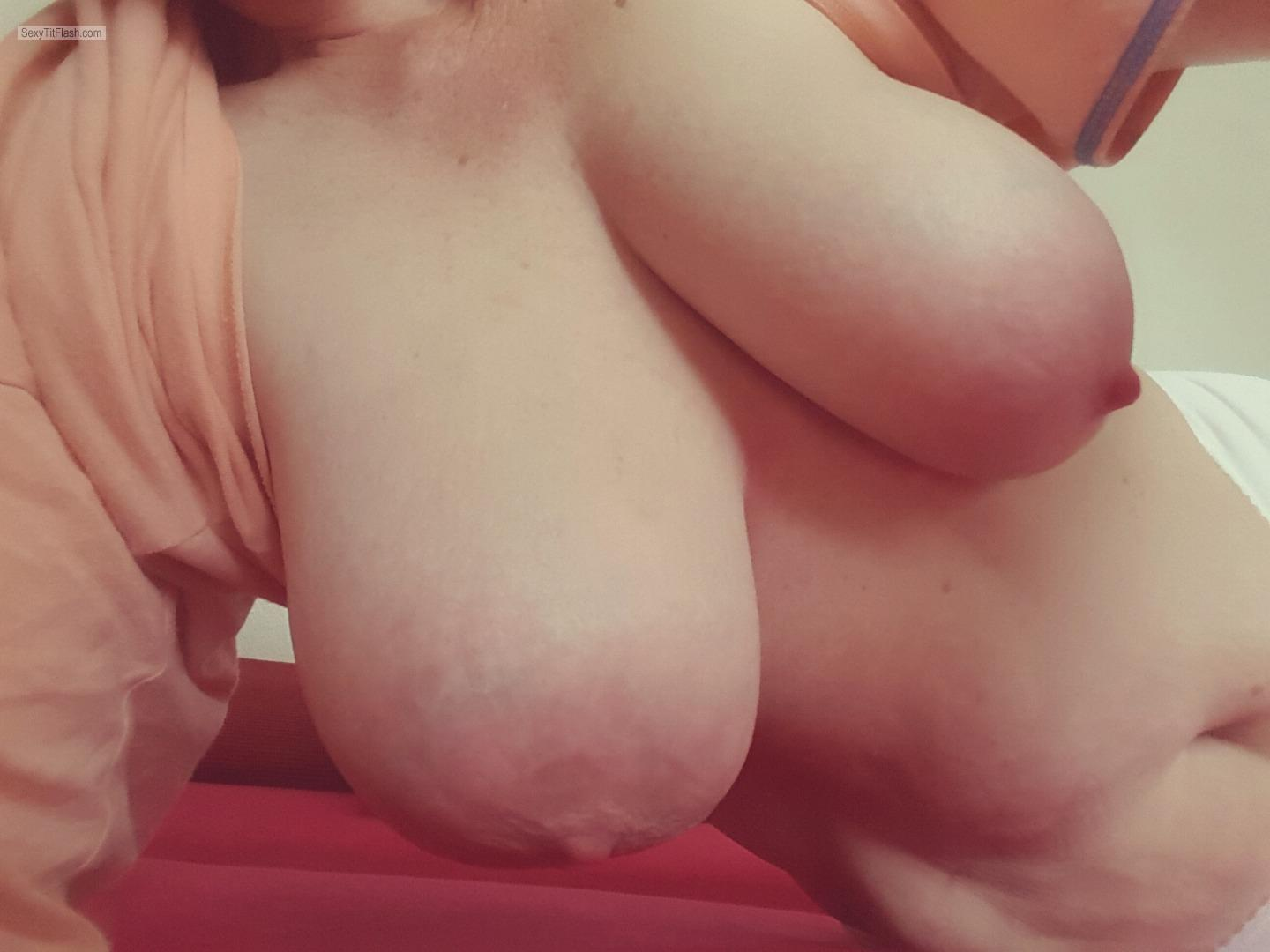 My Very big Tits Selfie by Topless