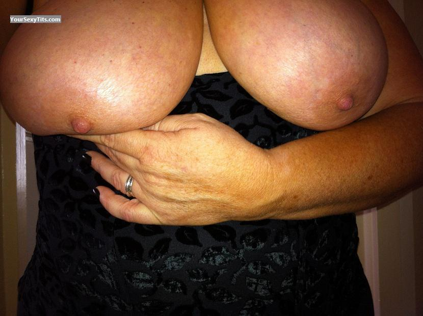 Tit Flash: My Friend's Very Big Tits - Annie P from United States