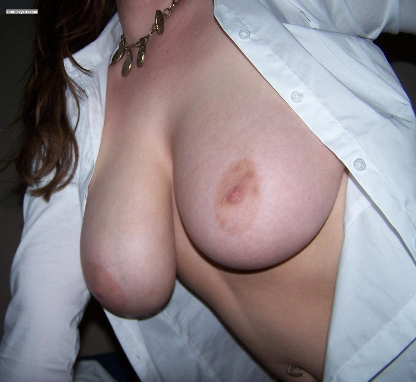 Tit Flash: My Very Big Tits (Selfie) - DoubleDee from United States