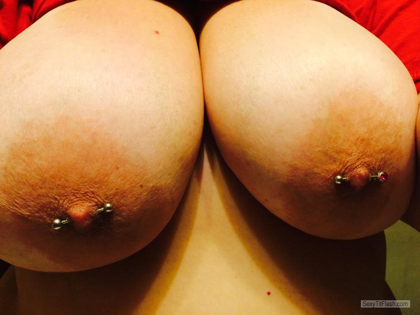 Very big Tits Of My Wife Selfie by LovelyTitz