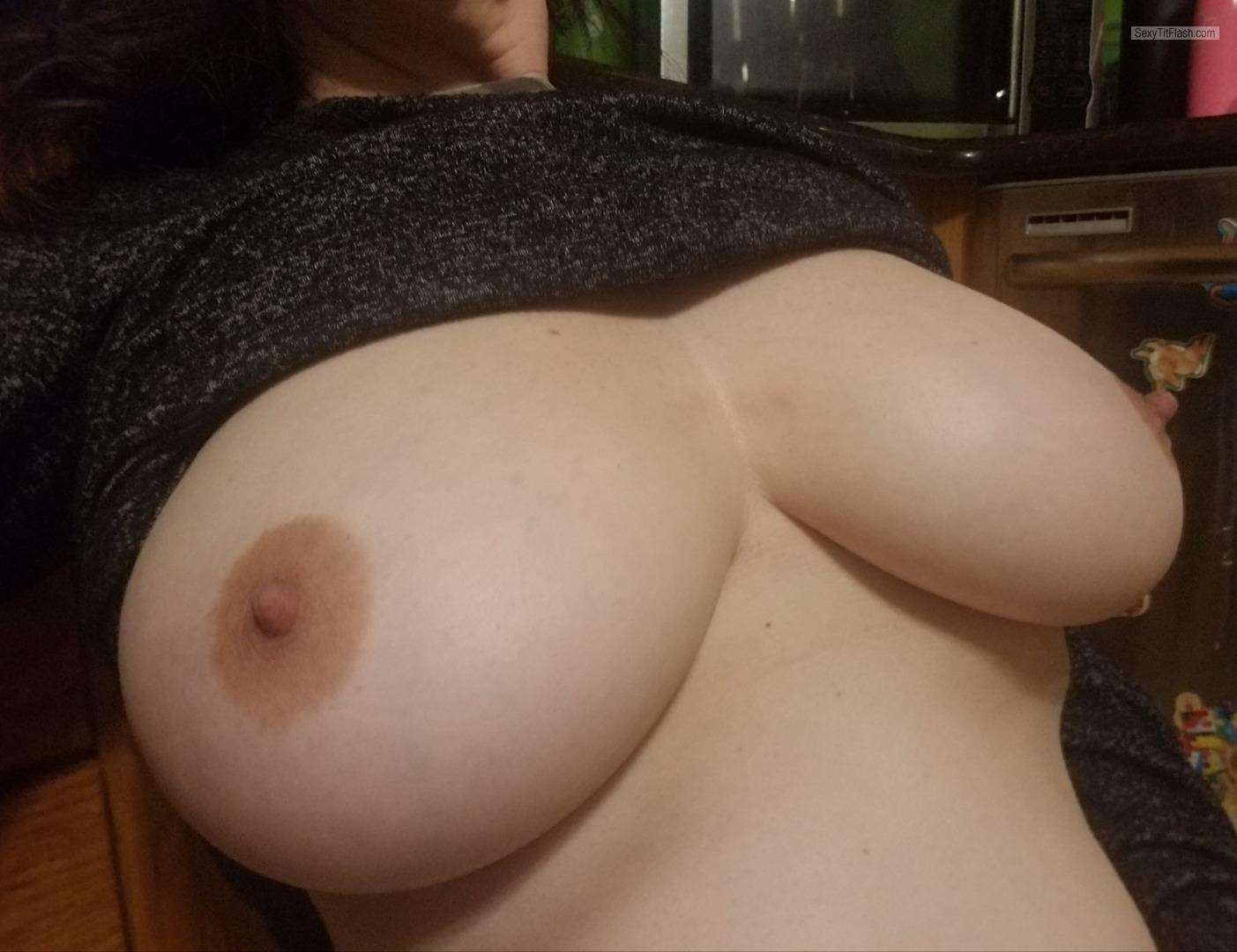 My Very big Tits Topless Horny Slut