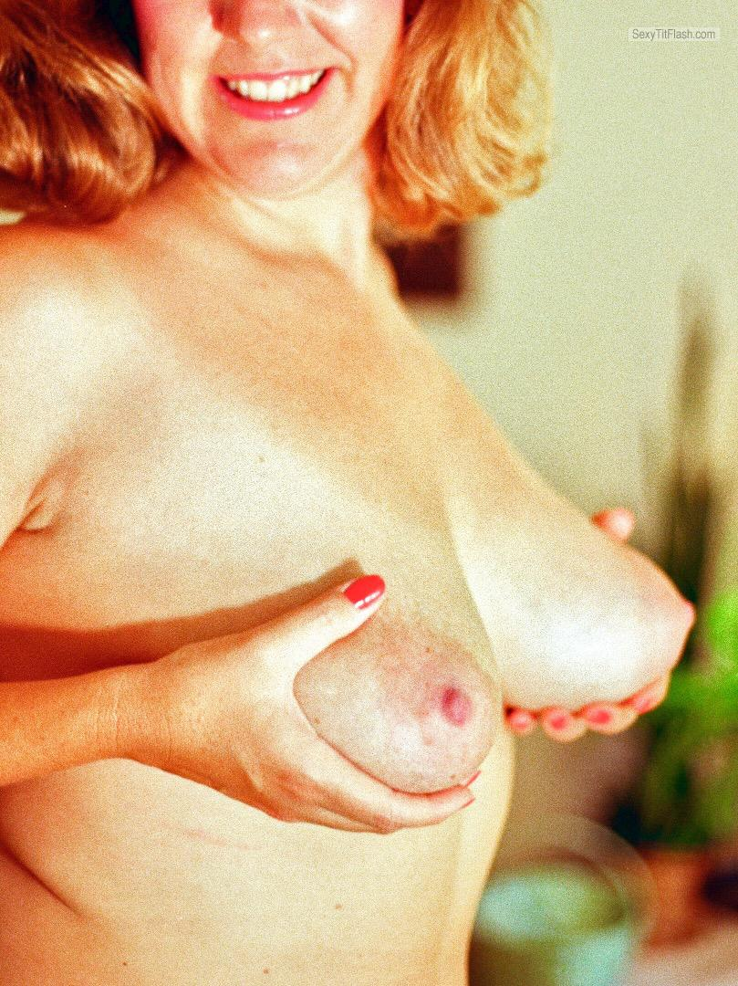 Very big Tits Of My Wife Linda