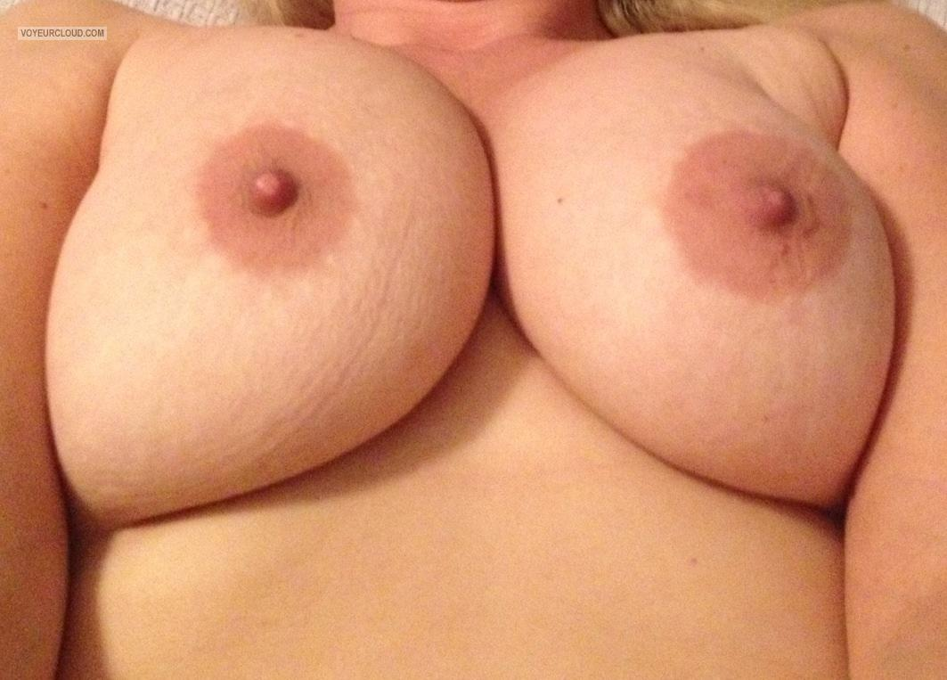 Very big Tits Of My Wife Selfie by Buxom Mistress