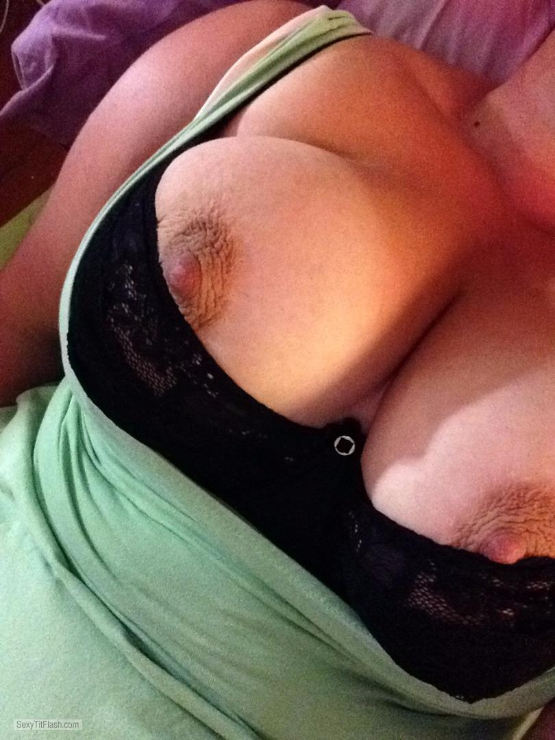 My Big Tits Big Firm Tits In Lace Bra