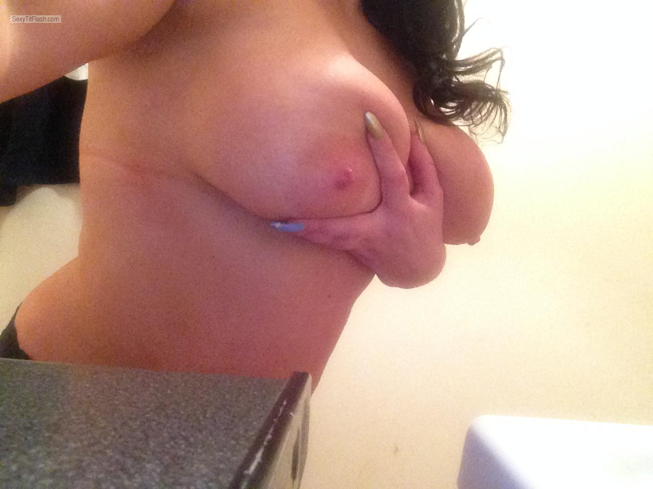 Tit Flash: My Big Tits - Kissmynipples from United Kingdom