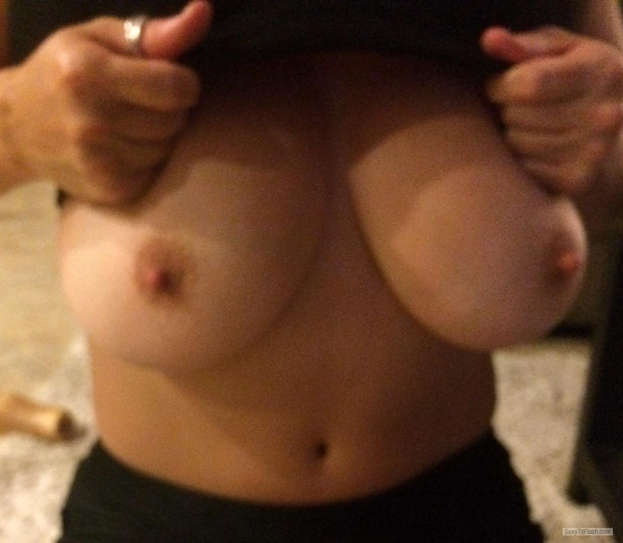 Very big Tits Of My Wife Perfect Tits