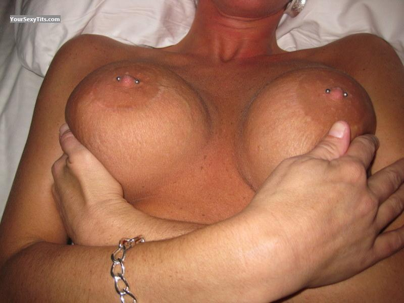 Tit Flash: Very Big Tits - Sexyback74 from United StatesPierced Nipples