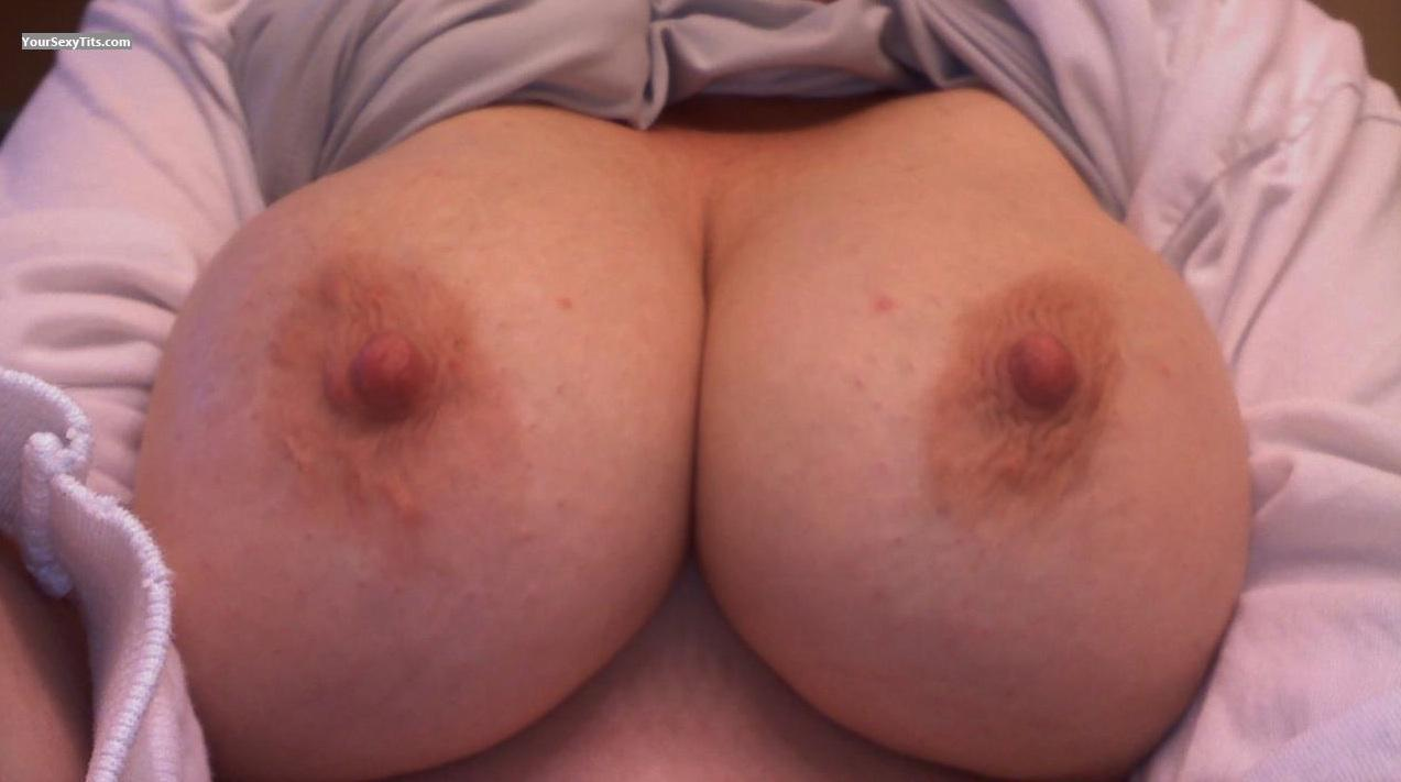 Tit Flash: My Very Big Tits (Selfie) - Mommakaren81 from United States