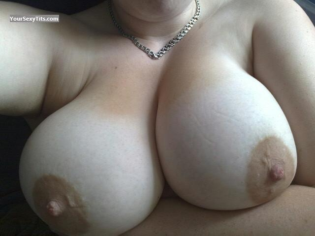 Tit Flash: My Very Big Tits (Selfie) - Annelie from Sweden