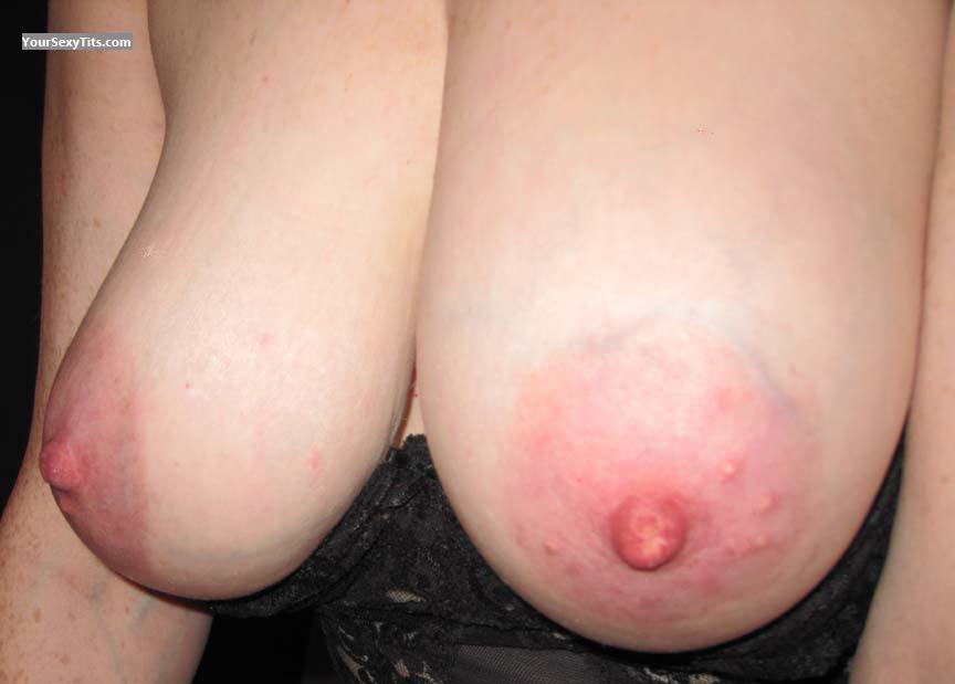 Tit Flash: Very Big Tits - PrettyNYC from United States