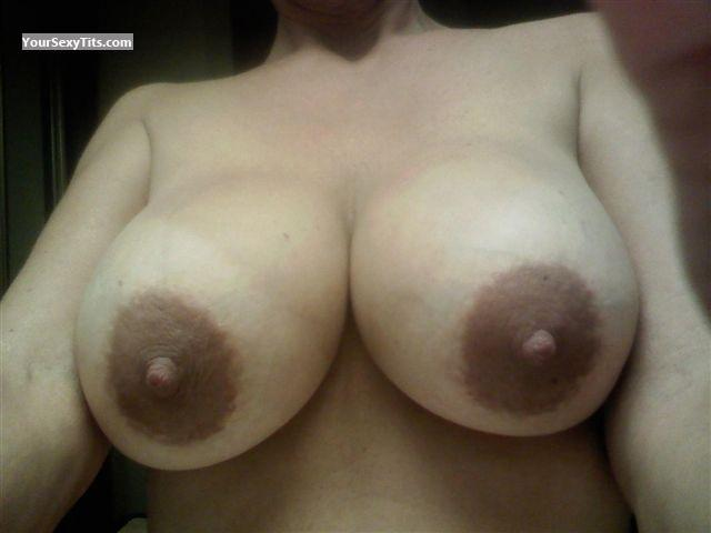 Tit Flash: My Very Big Tits (Selfie) - Demi from United States